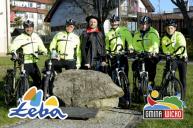 Cykliści z Łeby i Wicka w Płońsku
