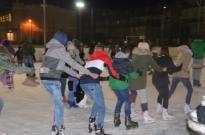 Inauguracja ferii na lodowisku