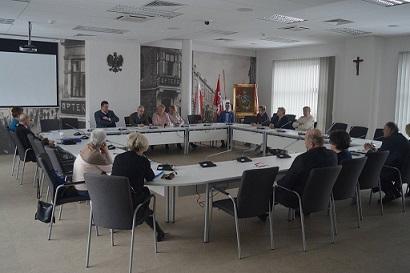 Sesja Rady Miejskiej Seniorów